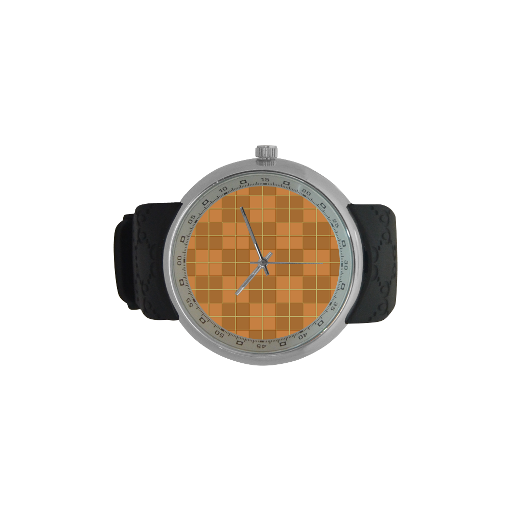 Natural Mosaic Men's Resin Strap Watch(Model 307)