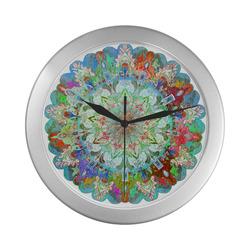 maagal hanouka 6 Silver Color Wall Clock