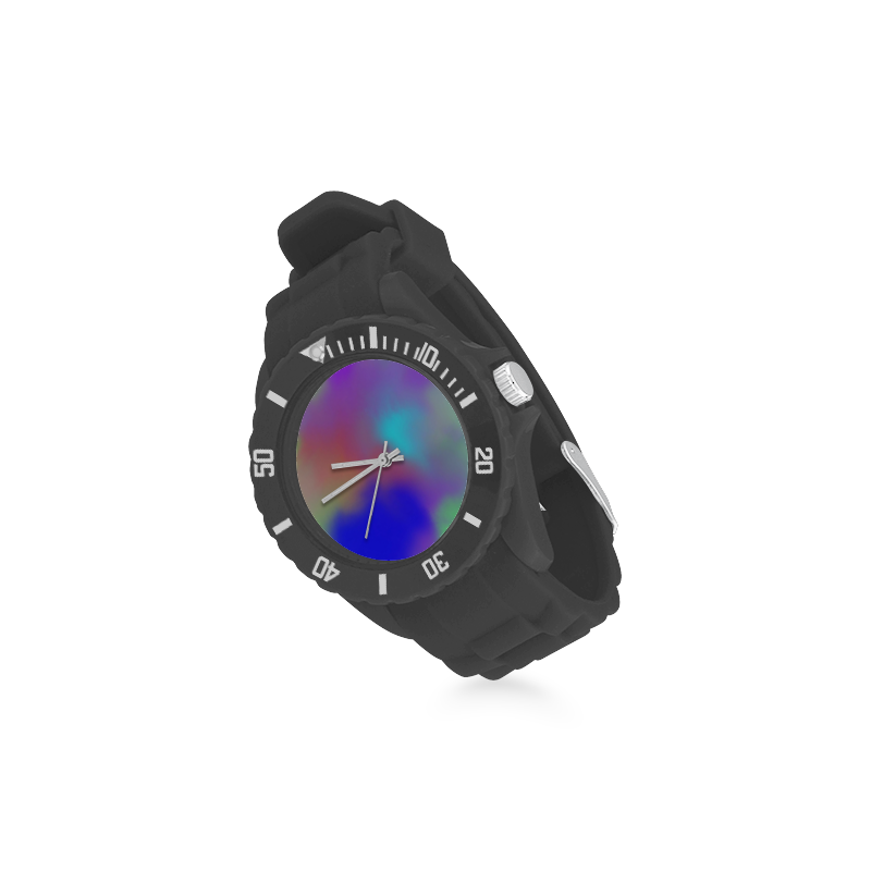 SPACE DUST Sport Rubber Strap Watch(Model 301)