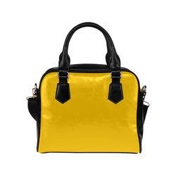 Zappy Simply Yellow Shoulder Handbag (Model 1634)