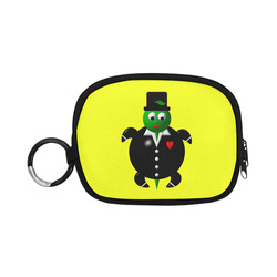 Cute Critters With Heart: Turtle in Tuxedo Coin Purse (Model 1605)