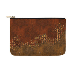 Amazing vintage design, floral elements Carry-All Pouch 12.5''x8.5''