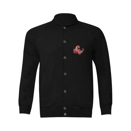 blossom Men's Baseball jacket (Model H12)