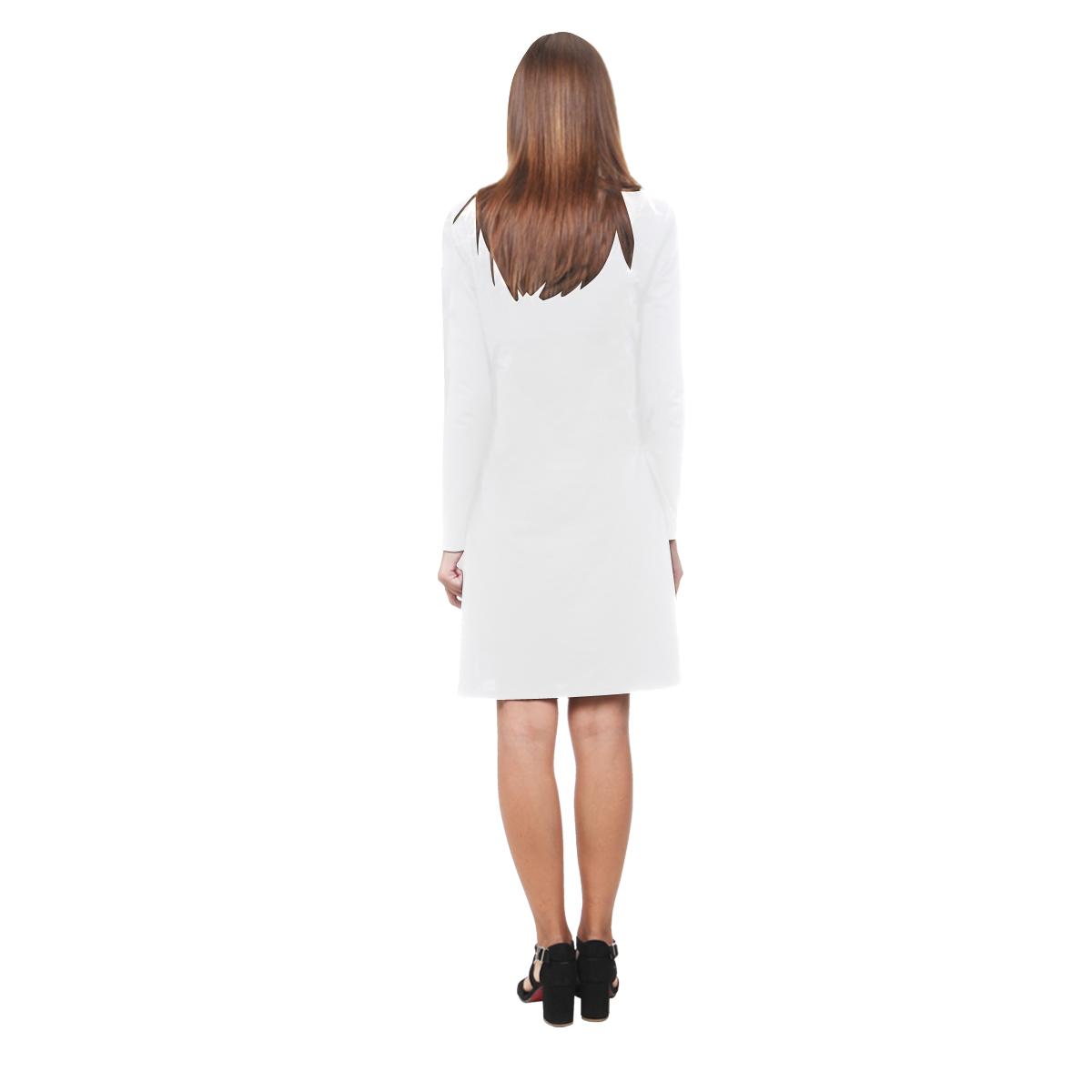 frosty Demeter Long Sleeve Nightdress (Model D03)