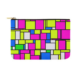 modern pattern 16A Carry-All Pouch 12.5''x8.5''