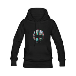 death flower Women's Classic Hoodies (Model H07)