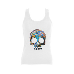 death flower Women's Shoulder-Free Tank Top (Model T35)