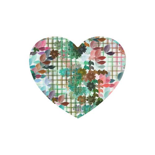 My Secret Garden #1 Day - Jera Nour Heart-shaped Mousepad