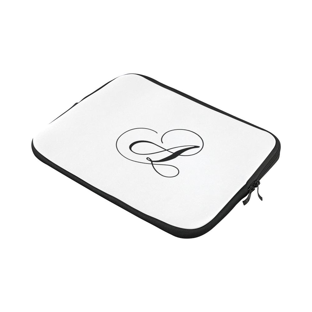 Letter A Classic Black - Jera Nour Macbook Pro 13''