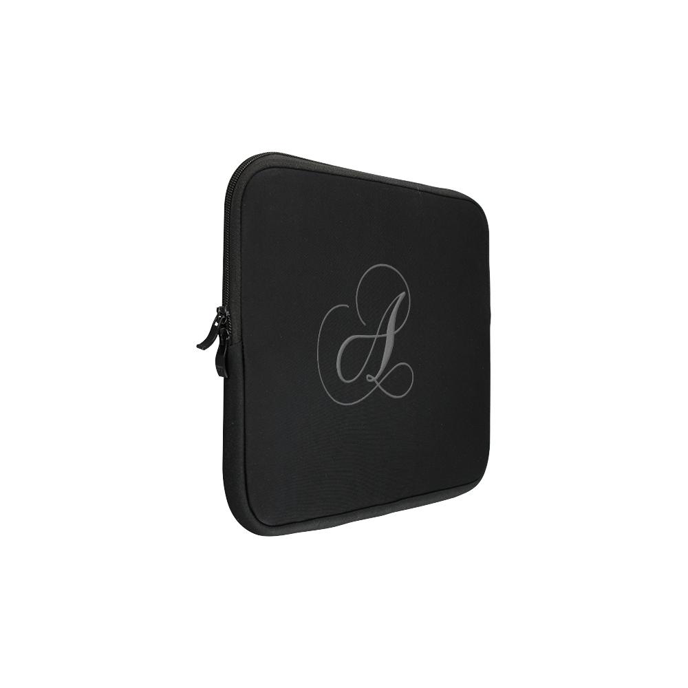 Letter A Gothic Grey - Jera Nour Macbook Pro 13''