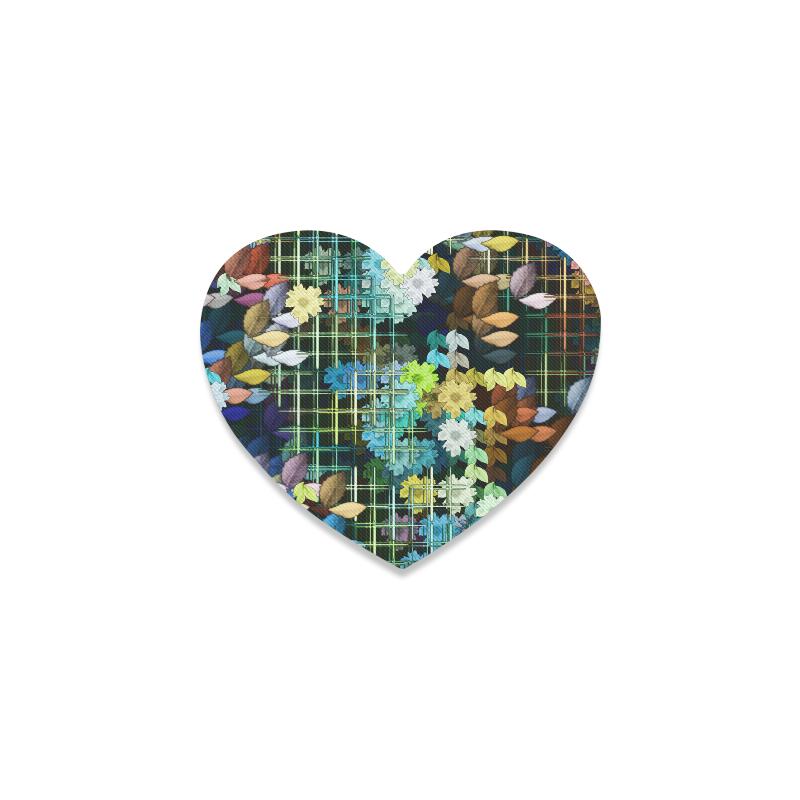 My Secret Garden #1 Night - Jera Nour Heart Coaster