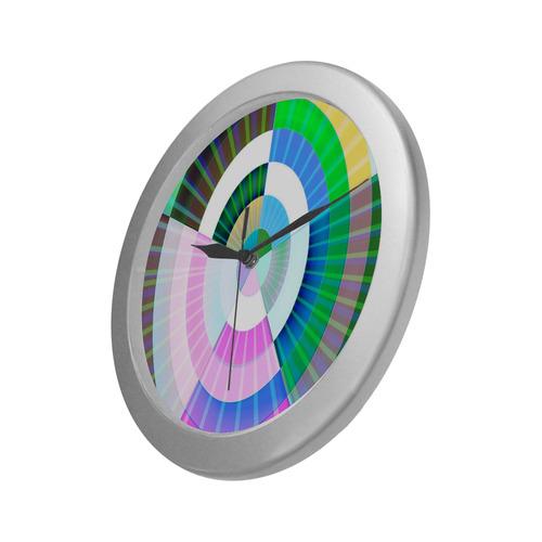 Cornea - Jera Nour Silver Color Wall Clock