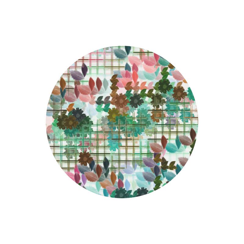 My Secret Garden #1 Day - Jera Nour Round Mousepad