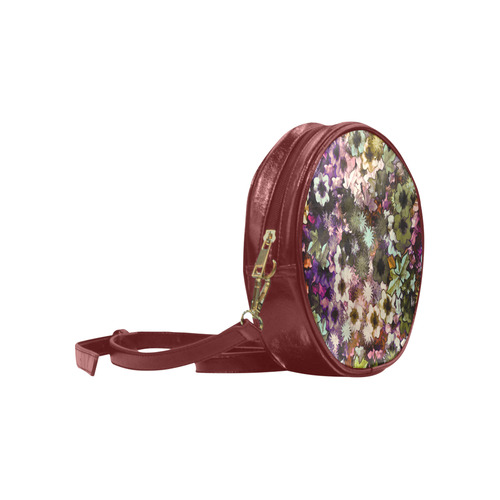My Secret Garden #3 Night - Jera Nour Round Sling Bag (Model 1647)