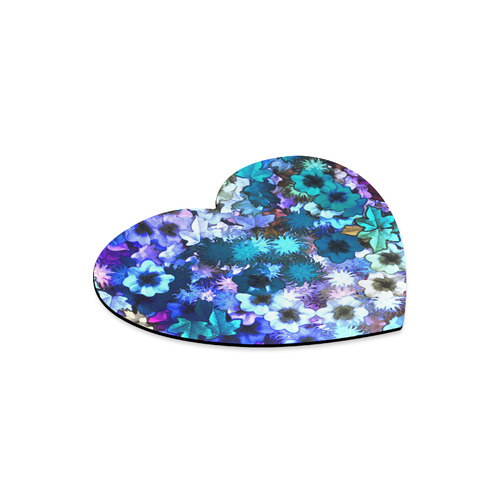 My Secret Garden #3 Day - Jera Nour Heart-shaped Mousepad