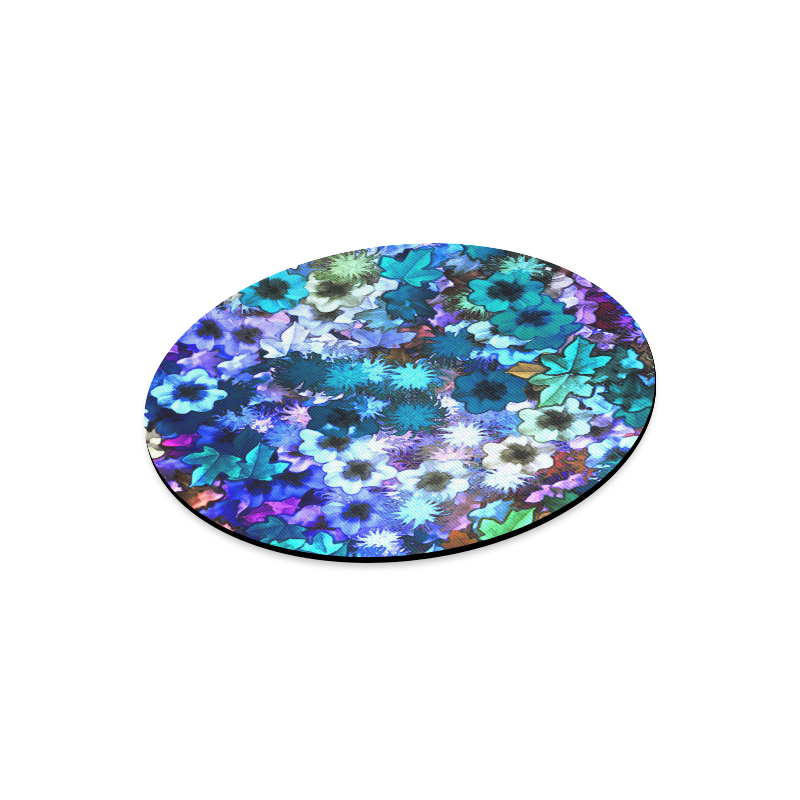 My Secret Garden #3 Day - Jera Nour Round Mousepad