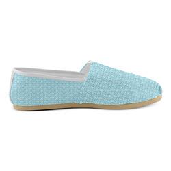Peace Symbol Blue (5) Unisex Casual Shoes (Model 004)