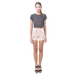 Floating Love Hearts Briseis Skinny Shorts (Model L04)