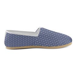 Peace Symbol Blue (2) Unisex Casual Shoes (Model 004)