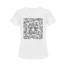 skull 1116 Women's Classic T-Shirt (Model T17)