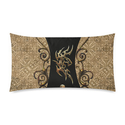 """The tiger, tribal Rectangle Pillow Case 20""""x36""""(Twin Sides)"""