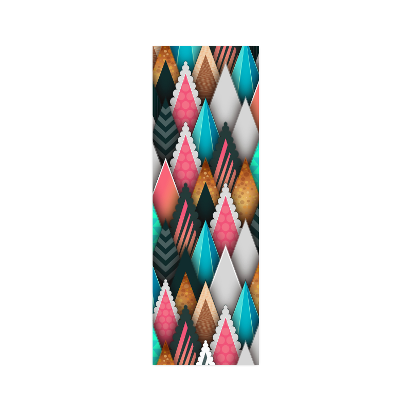 """Crazy Abstract Design Poster 12""""x36"""""""