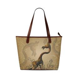 Little frightened giraffe Shoulder Tote Bag (Model 1646)