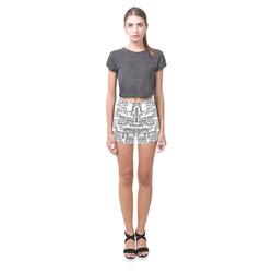 Love Words Briseis Skinny Shorts (Model L04)