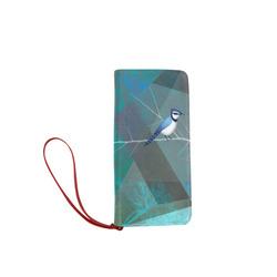 BIRDS P19-W2_ Women's Clutch Wallet (Model 1637)
