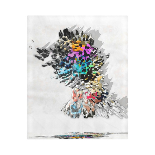 """Rock Wall by Artdream Duvet Cover 86""""x70"""" ( All-over-print)"""