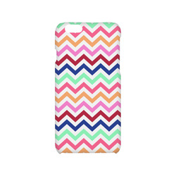 CHEVRONS Pattern Multicolor Pink Turquoise Coral Blue Red Hard Case for iPhone 6/6s