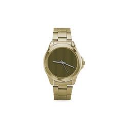 Black and Gold Stripe (1) Custom Gilt Watch(Model 101)