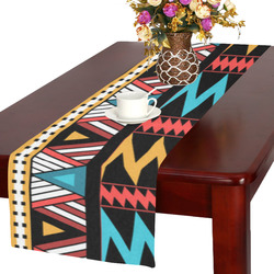aztec pattern Table Runner 16x72 inch