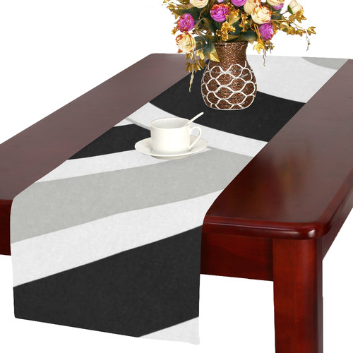 contast curves Table Runner 16x72 inch