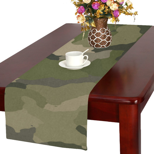 camo Table Runner 16x72 inch
