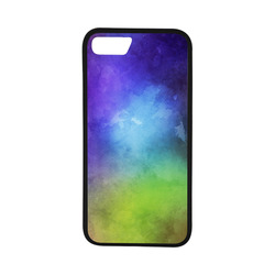 """Watercolor Colorful abstract Rubber Case for iPhone 7 (4.7"""")"""