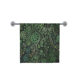 "3D Psychedelic Abstract Fantasy Tree Greenery Bath Towel 30""x56"""