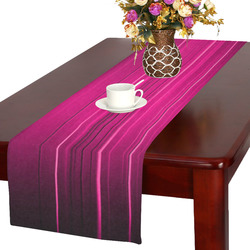 Electrified Static Hot Pink Table Runner 16x72 inch