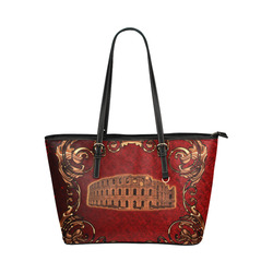 The collosseum Leather Tote Bag/Large (Model 1651)
