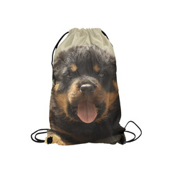 "Rottweiler20150905 Small Drawstring Bag Model 1604 (Twin Sides) 11""(W) * 17.7""(H)"