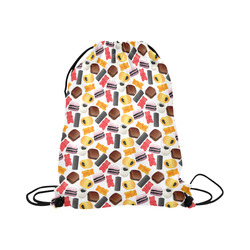 "Yummy Large Drawstring Bag Model 1604 (Twin Sides)  16.5""(W) * 19.3""(H)"