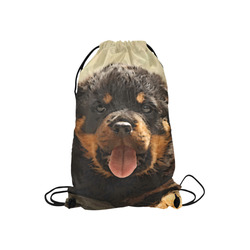 "Rottweiler20150906 Small Drawstring Bag Model 1604 (Twin Sides) 11""(W) * 17.7""(H)"