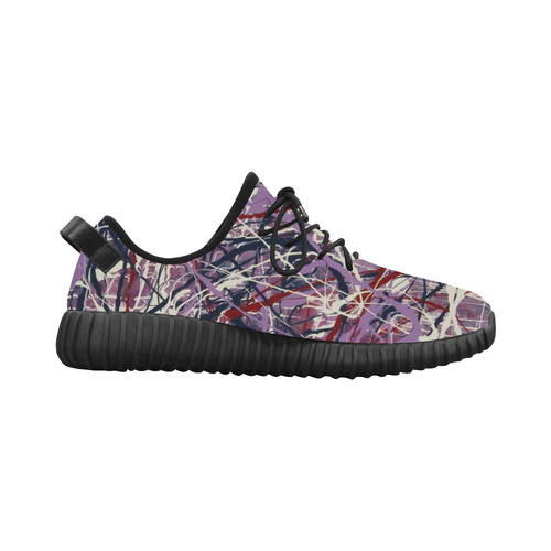 Enchanted Symphony Grus Women's Breathable Woven Running Shoes (Model 022)