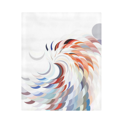 """Spiralize by Artdream Duvet Cover 86""""x70"""" ( All-over-print)"""