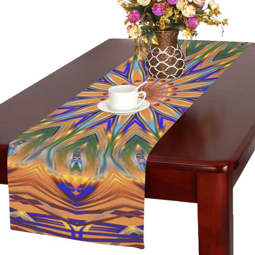Sentinel Mandala Table Runner 16x72 inch