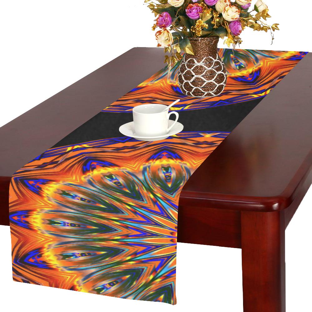 Love Power Mandala Table Runner 16x72 inch
