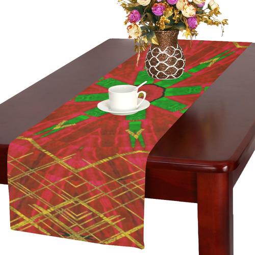 Merry Stars on Table Runner 16x72 inch