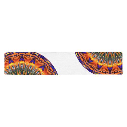 Love Power Mandala Table Runner 14x72 inch