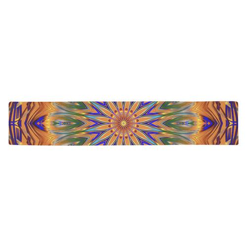 Sentinel Mandala Table Runner 14x72 inch
