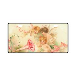 Vintage valentine cupid angel hear love songs License Plate